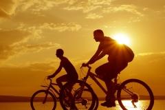 Cyclist-Sunset