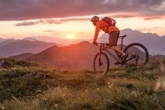 Mountain-Biker-Sunset