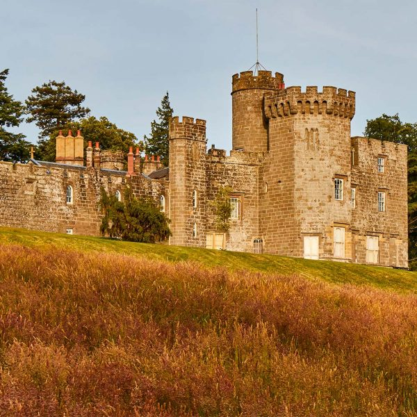 Balloch Castle in Balloch in Scotland