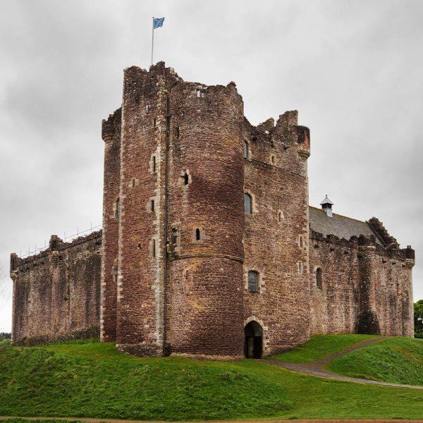 Doune Castle near Stirling in Scotland